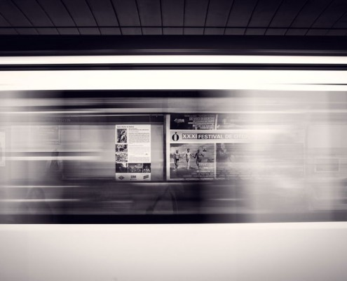 Subway blur